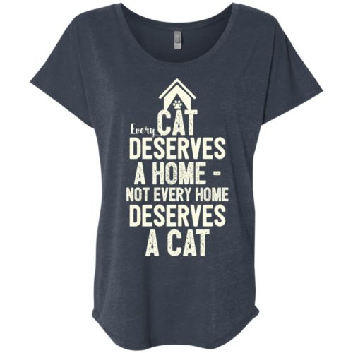 Every Cat Deserves Slouchy Tee