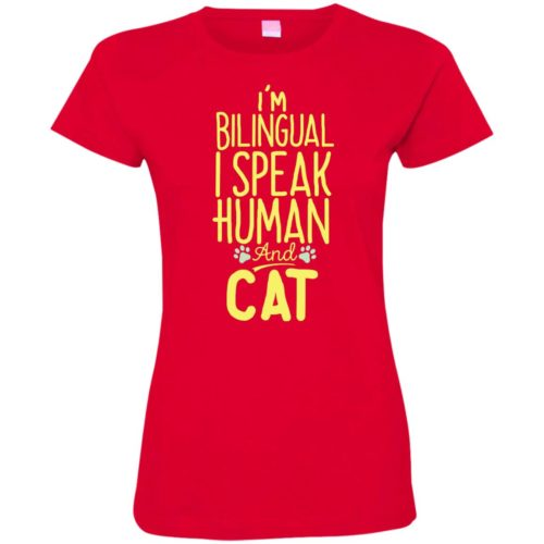 I'm Bilingual Fitted Tee