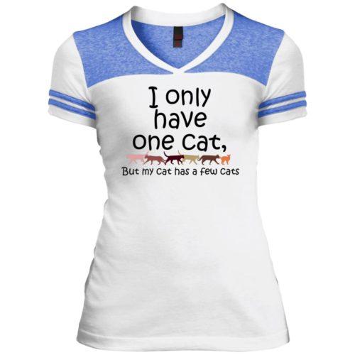 I Only Have One Varsity V-Neck T-Shirt