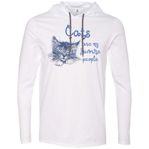 Cats Favorite People T-Shirt Hoodie