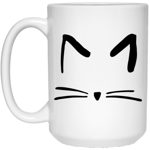 Cat Sketch 15 oz. Mug