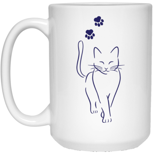 Cat Walk 15 oz. Mug