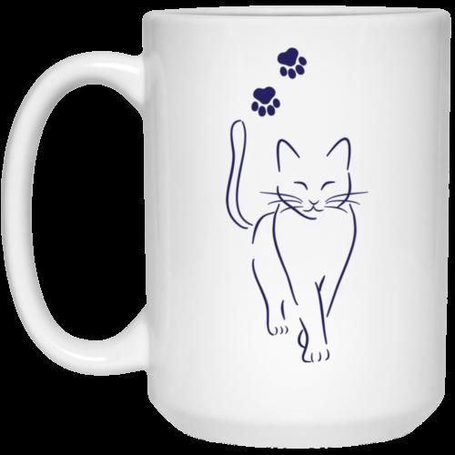 Cat Walk 15 oz. Mug