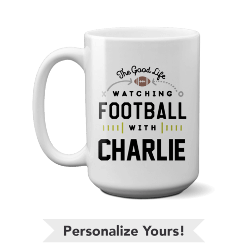 The Good Life Personalized 15 oz. Mug
