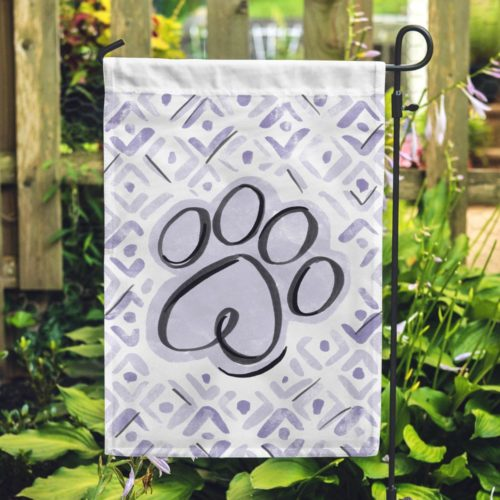 Pretty Paw Garden Flag