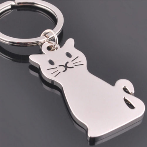 Rescue Kitty Keychain