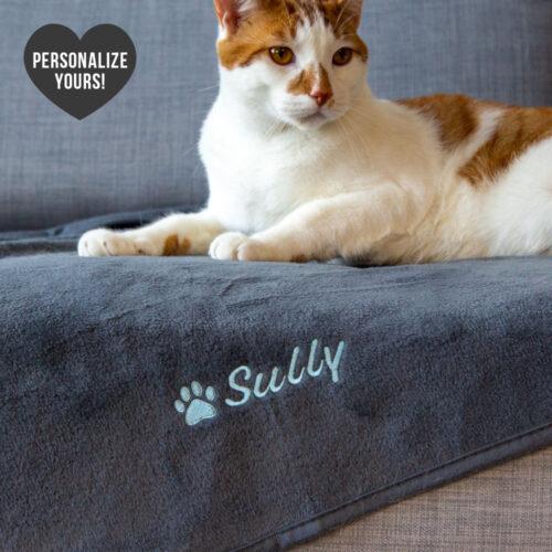 Second Chance Movement™ Customizable Premium Kitty Blanket