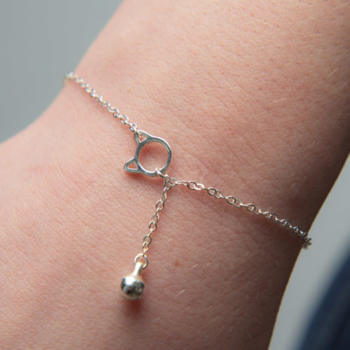 A Christmas Miracle Limited Edition A Cat's Love Sterling Silver Bracelet