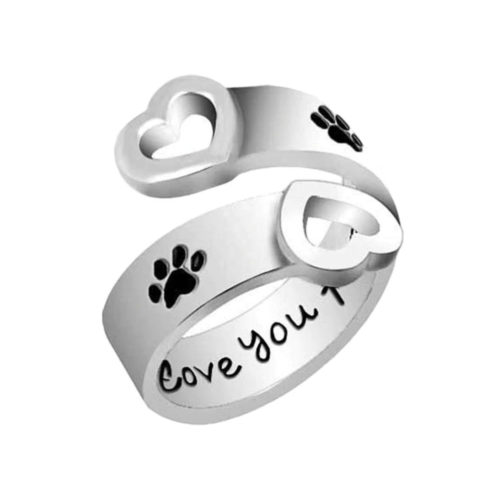 I Will Love You Forever Adjustable Ring