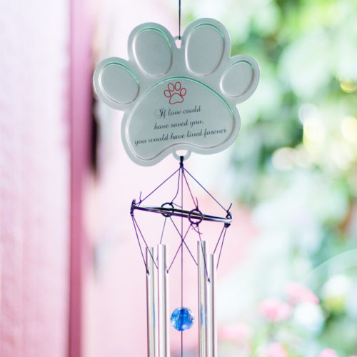 If Love Could Have Saved You Memorial Wind Chime