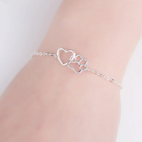 Paws Linked to My Heart Bracelet