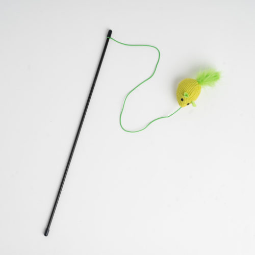 Mouse Chaser Kitty Toy- Green