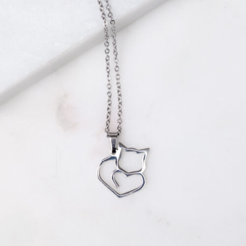 Special Offer! Kitty ❤️ Heart Necklace