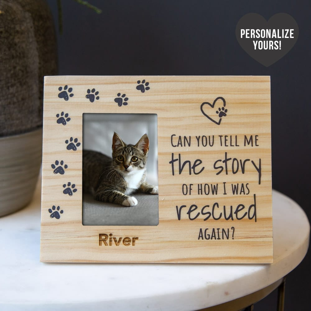 'Can You Tell Me The Story' Personalized Picture Frame