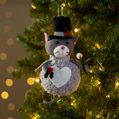 Warm Hearts ❤️ Full Bellies Ornament Collection 🎄Higgins The Rescue Kitty
