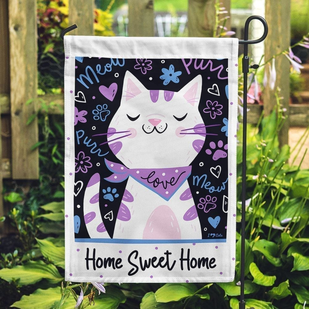 Home Sweet Home Garden Flag-  Get 2 for $14.99!