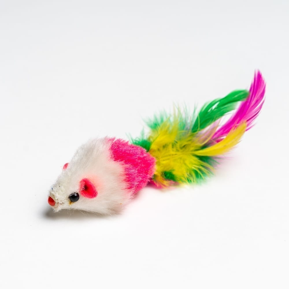 Mardi Gras Kitty Toy - Pink