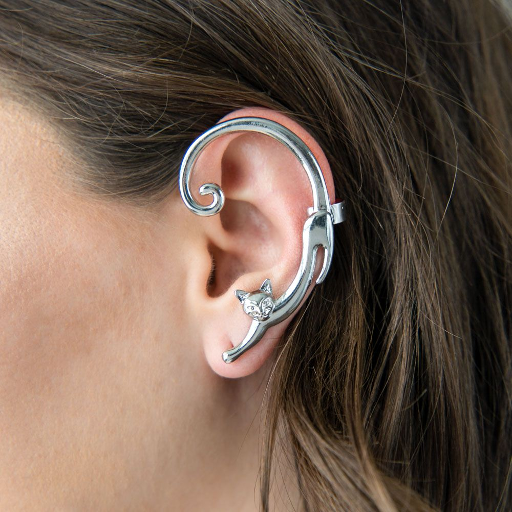 Playful Kitty Ear Cuff