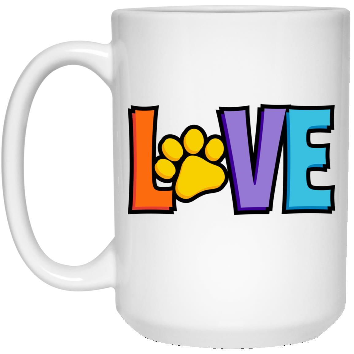 Love Is 💕 15 oz. Mug