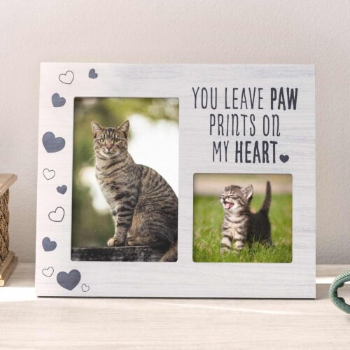 You Leave Paw Prints On My Heart Frame